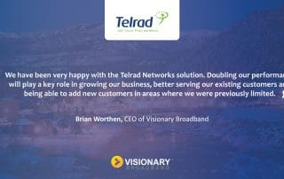 Telrad Dual Carrier LTE Solution