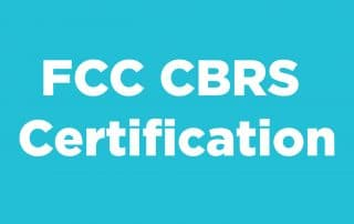 CBRS Certification